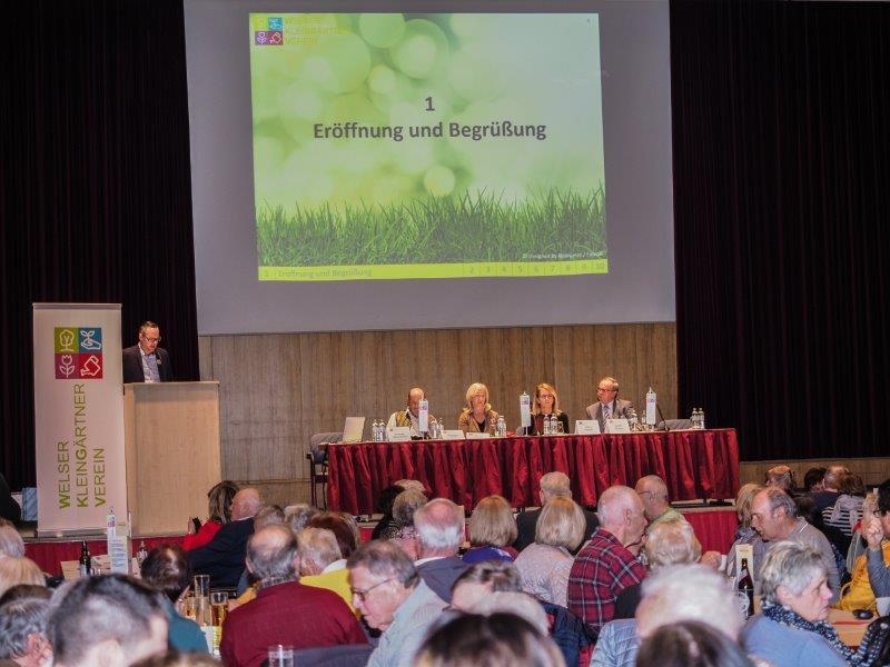 Mitgliederversammlung über das Vereinsjahr 2018 am 20.03.2019